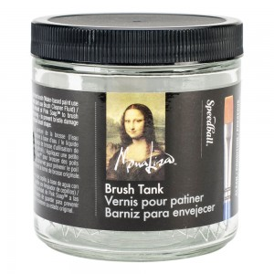 Mona Lisa Brush Cleaning Tank