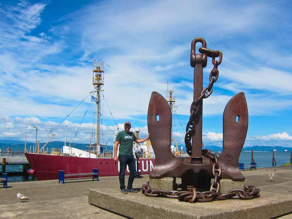 Huge Anchor!