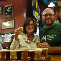 Rich & Kathy at Russian River Brewing