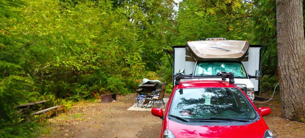 Campsite in Chehalis