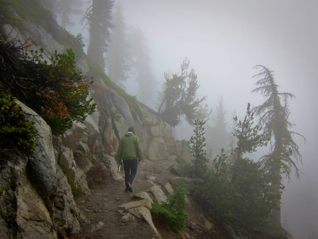Rich Hiking to Bumpass Hell