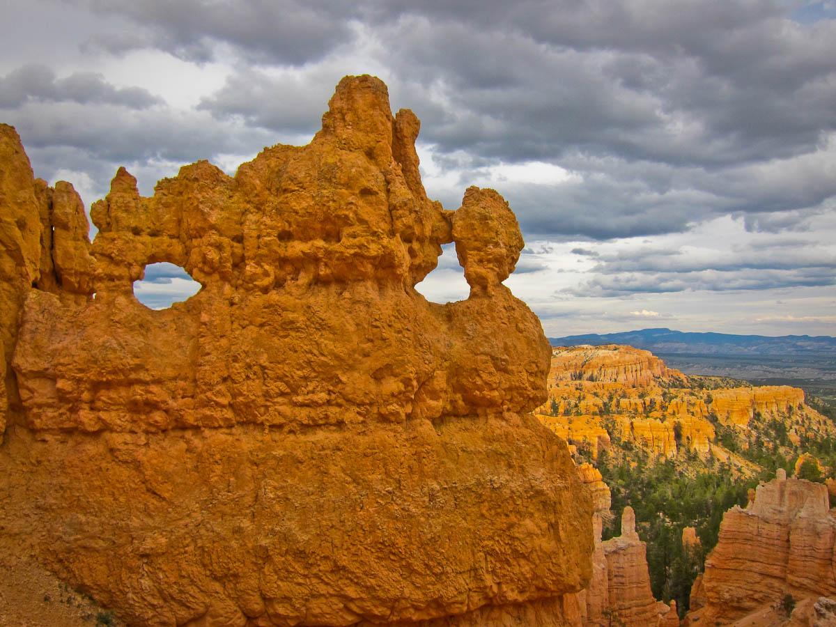 Windows in the rock