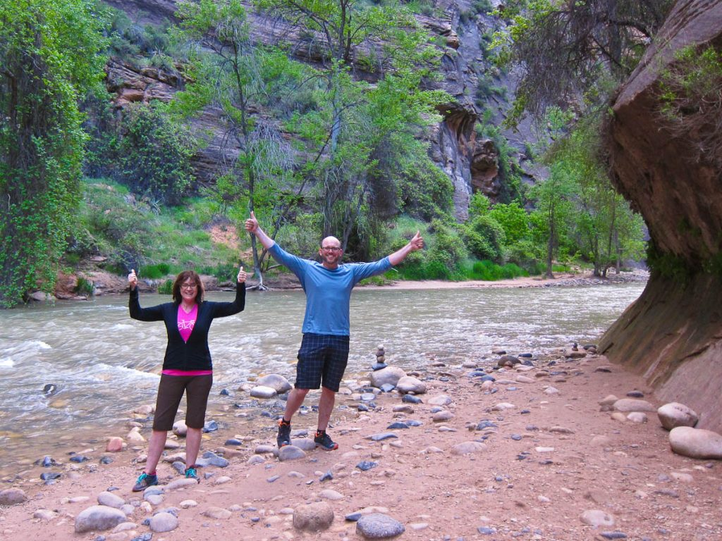 At the Entrance to the Narrows