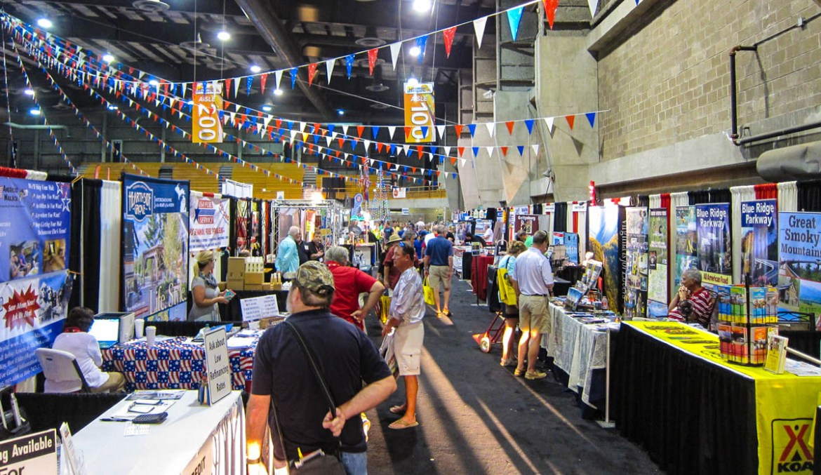 RV Show Indoor Displays