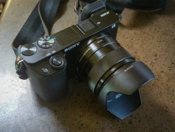Our Sony A6000 with 35MM F1.8 Lens