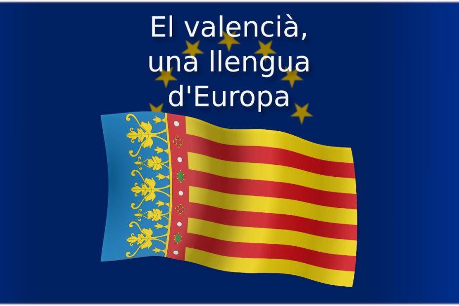 El valencià, una llengua d'Europa