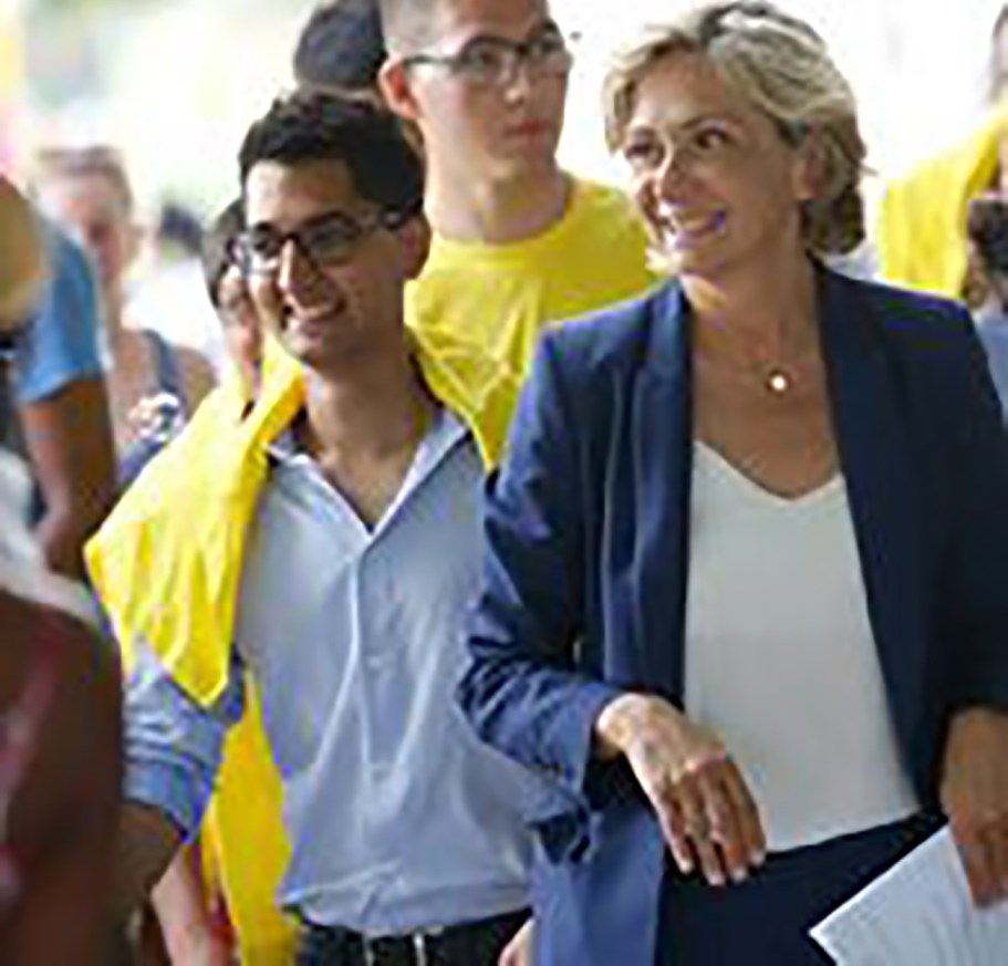 Valérie Pécresse, la présidente de notre région m'apporte son soutien dans la campagne des législatives !