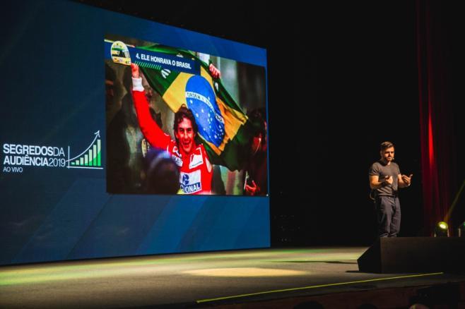 Samuel Pereira Fala Sobre Ayrton Senna no SDA 2019 Ao Vivo