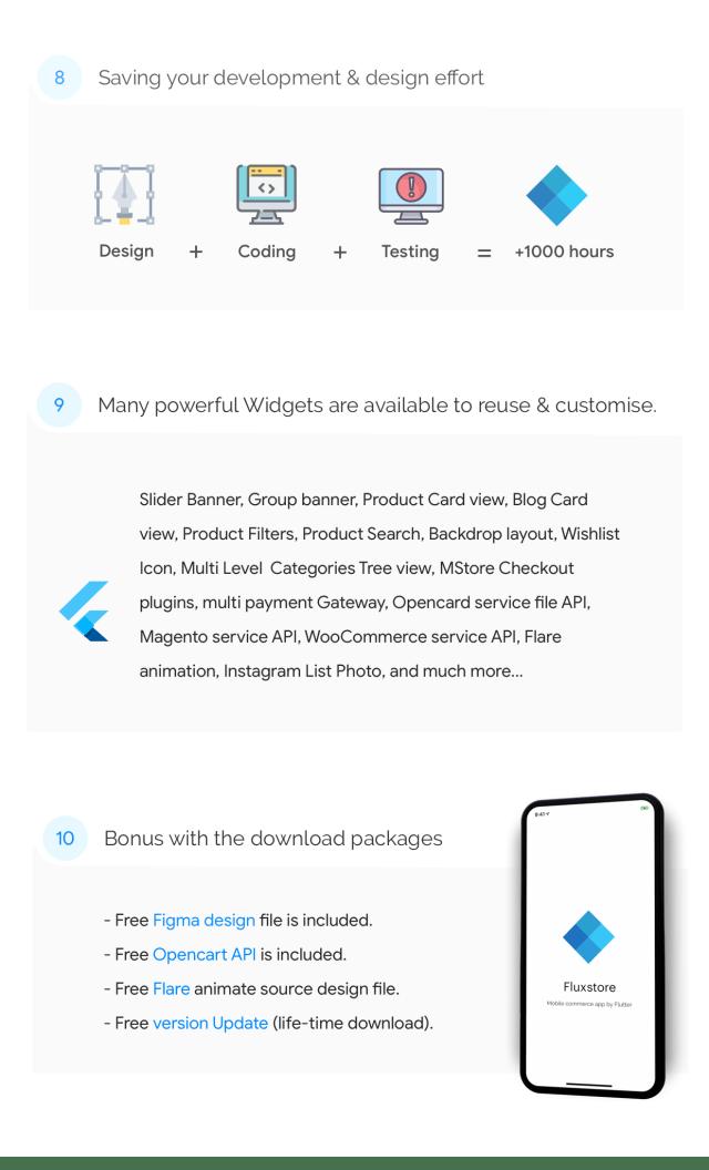 Flutter Mobile App - FluxStore Pro - Flutter E-commerce Full App for Magento, Opencart, and Woocommerce - 11
