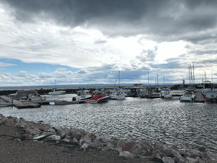 Carleton sur Mer dans la Baie des Chaleurs.png