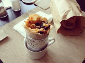 burrito cup