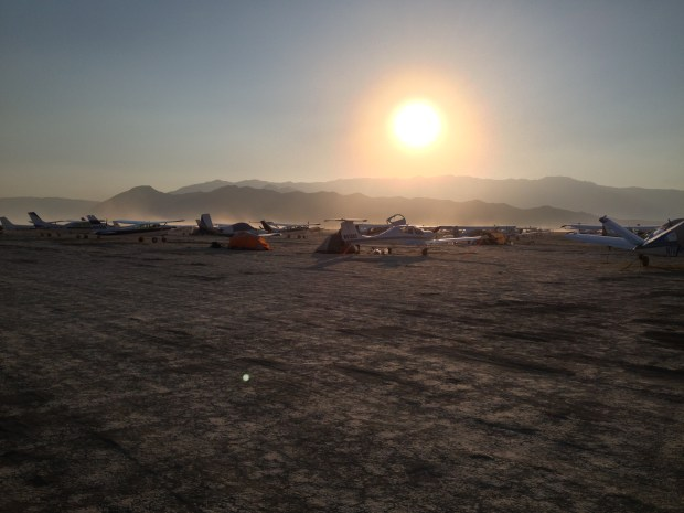 Black Rock City airport