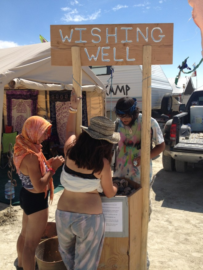 Wishing well Burning Man