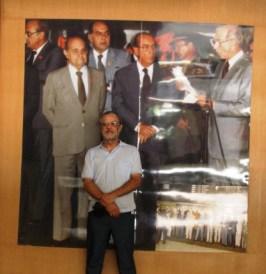 Como sou culto, identifiquei todos da foto de inauguração do Aeroporto de Confins