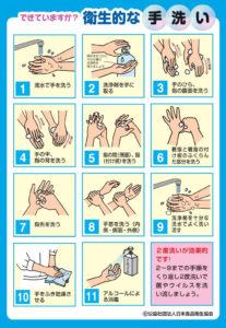 ノロウイルス手洗い方法