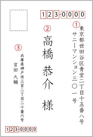 はがき書き方01