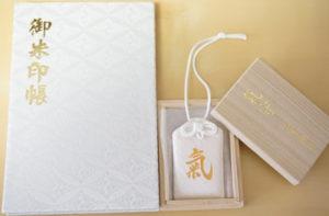 三峯神社白い御朱印帳