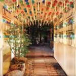 川越 氷川神社 風鈴 画像