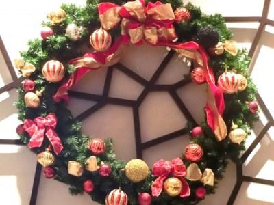 クリスマスリースの由来や意味は?いつからいつまで飾るの?