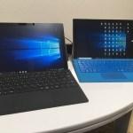 Surface Pro(第5世代)の開封と、Surface Pro3との外観比較