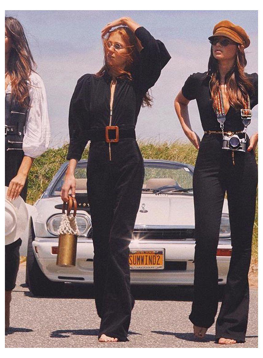 retro outfits 70s jumpsuit