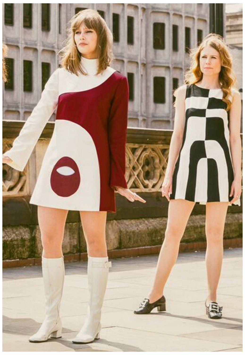 gogo boots outfit 60s