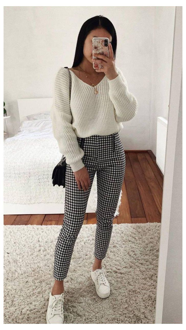 paperbag trousers outfit casual