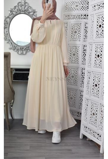 Robe longue bohème pour femme musulmane pas cher - Neyssa Boutique