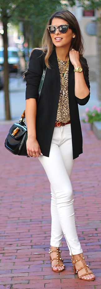 How to wear animal print for your Color Code - Tabitha Dumas
