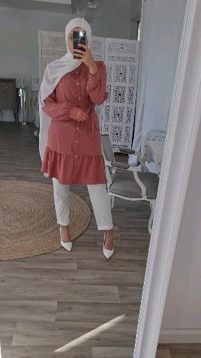 Tunique longue pas chère bohème hijabi