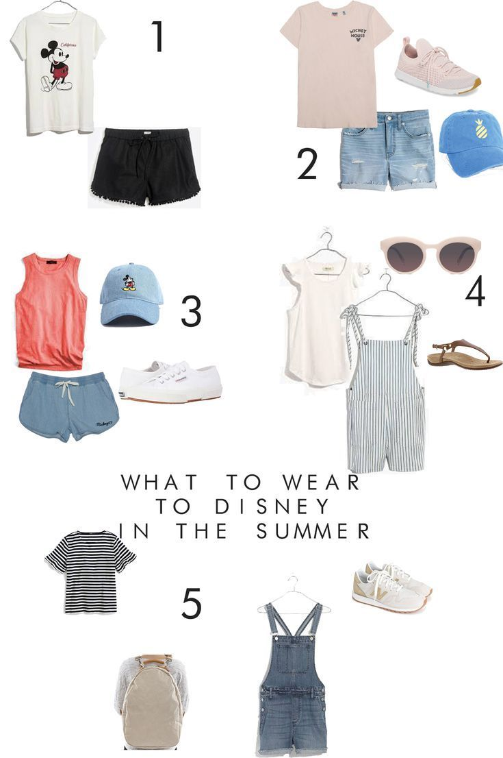 What to Wear to Disney this Summer: Best Outfits for the Heat