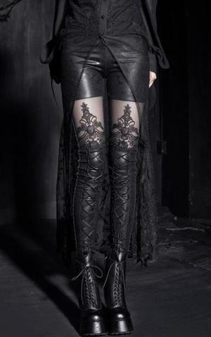 The Gothic Corset Leggings