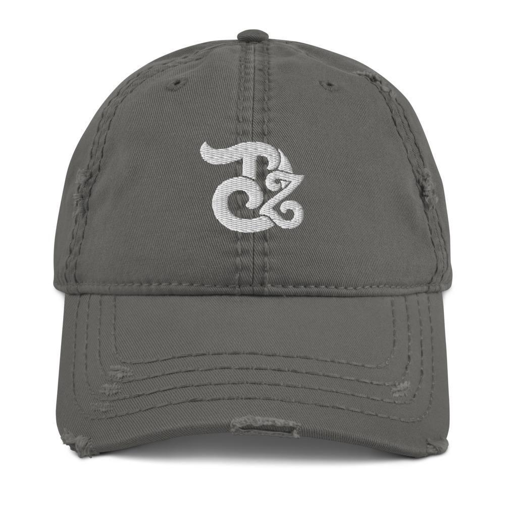 Teedzen Distressed Hat - Charcoal Grey