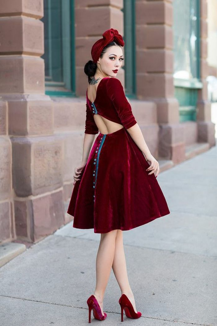 ▷ 1001+ idées de la robe rockabilly - comment la porter, comment la créer et beaucoup plus