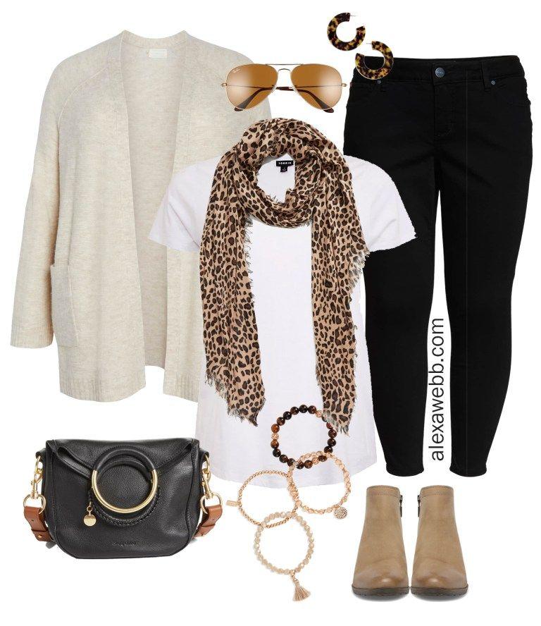 Plus Size Black Jeans Outfit