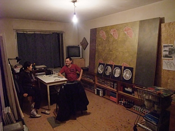 Atelier Galym Madanov en Zauresh Madanova