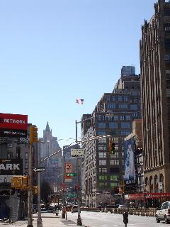 Sunny side of New York