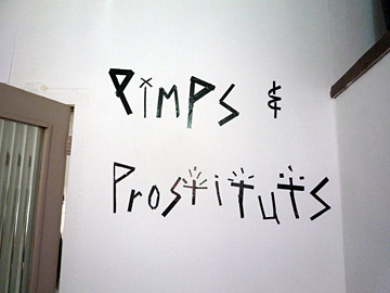 Pimps & Prostitutes @ 182 A