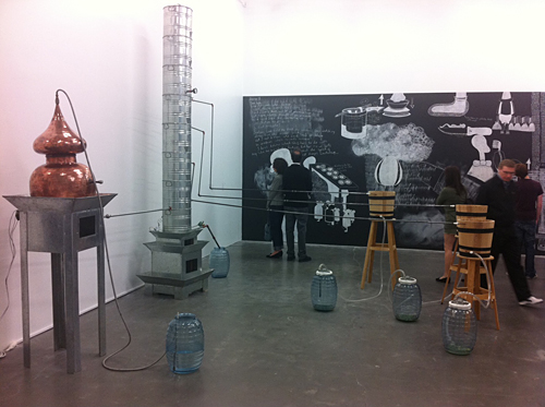 Kunst in drie 'boroughs' van New York City | March 2012