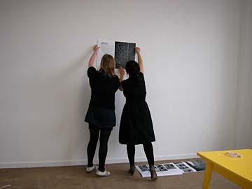 Dieuwertje Komen en Carme Nogueira @  SECONDroom (SecondWOT?)  Brussel