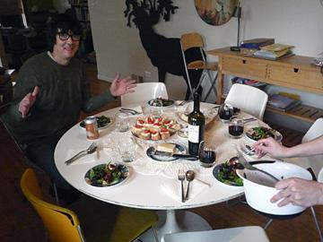 Platen sjouwen en mangootje slagroom