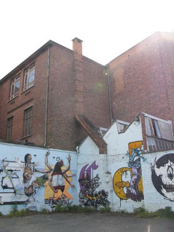 Graffiti in Gent