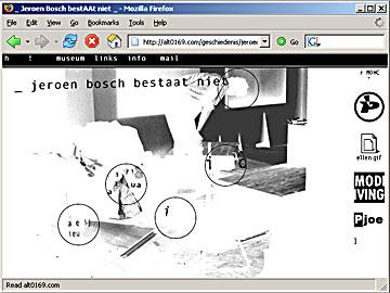 Jeroen Bosch homepage