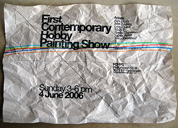 First Contemporary Hobby Painting Show