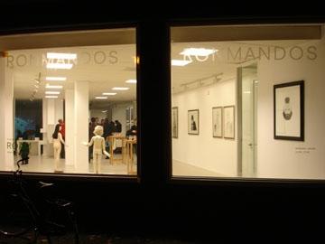 Silvia B & Arthur Kleinjan @ Ron Mandos Amsterdam