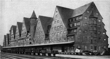 Lagerhaus 1909 Keulen