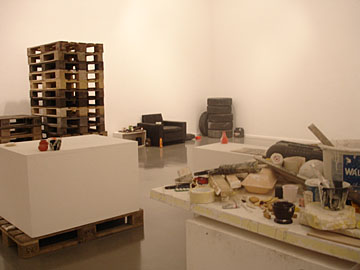 Fischli and Weiss at the Musee de l�art Moderne de la Ville de Paris