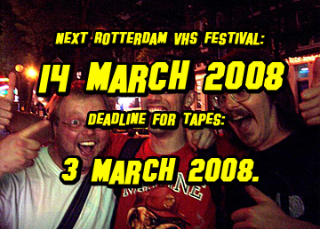 Rotterdam VHS Festival #14