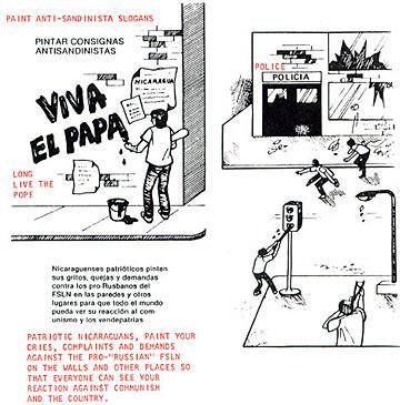 CIA Handbook on Overthrowing Nicaraguan (Sandinista) Government
