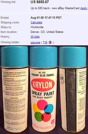 Knettergek op Ebay